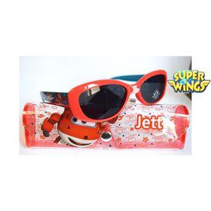 LUNETTES DE SOLEIL Lunette de soleil garçon Super wings Rouge - Jett 7823965fe0be