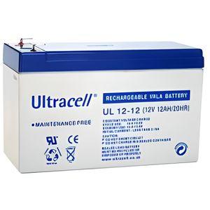 BATTERIE DOMOTIQUE Batterie plomb 12V 12Ah Ultracell série UL