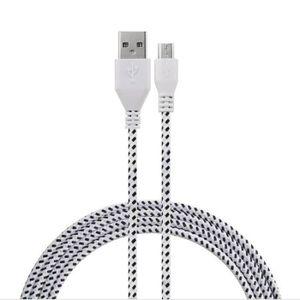 Câble - connectique GPS 3M Tissu Tressé Sync Cable Chargeur Cord Pour  Sam