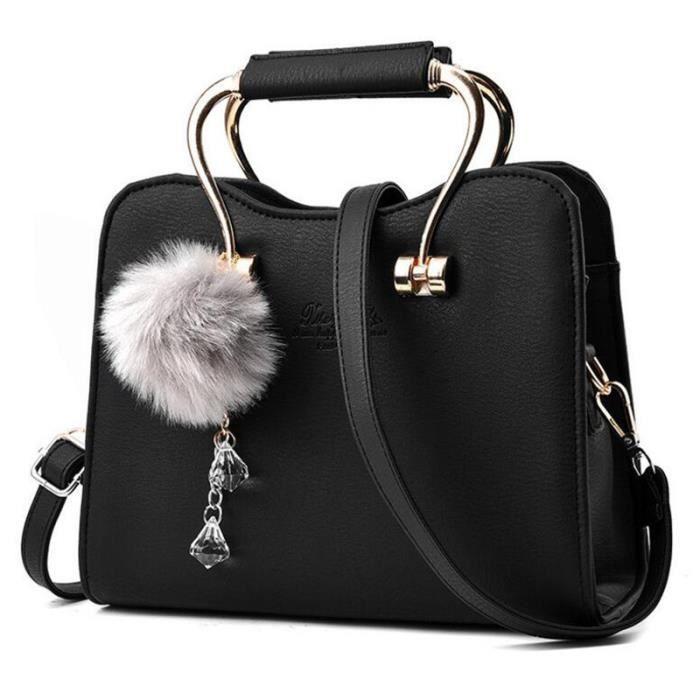 les ventes chaudes 464fd 0ab6c sac bandouliere noir sacs de marque de luxe en cuir veritable femme  meilleure qualité femmes sacs à main en cuir meilleur sac à