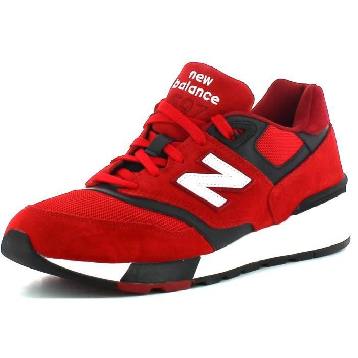 new balance 501 homme rouge