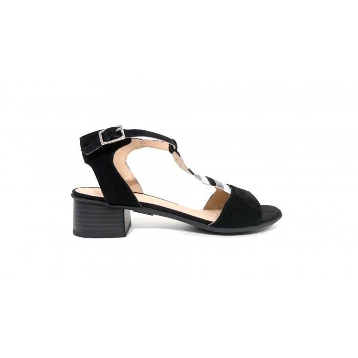 Sandales Chabada noires (40 - Noir)
