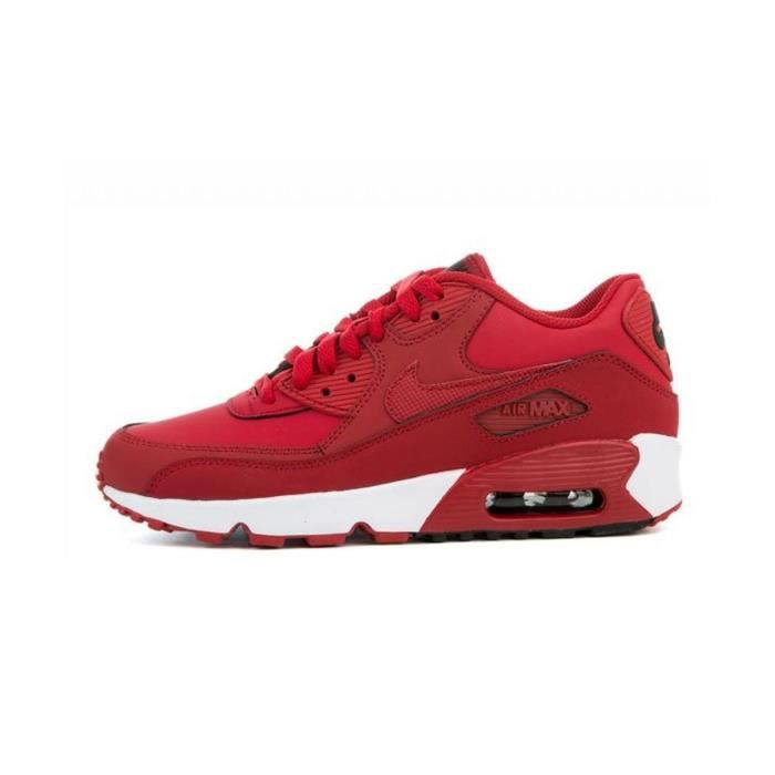 nike air max 90 leather rouge