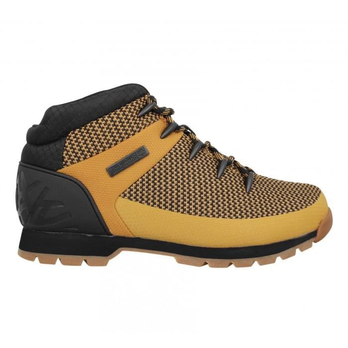 ocre Baskets Euro Timberland Homme Sprint 45 Textile mnvN0w8