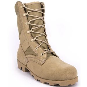 Military Jungle Boots Full Grain Leather Speedlace Desert Boots Combat Outdoor Work Boots ZSJNE Taille-40 1-2 2eqJH