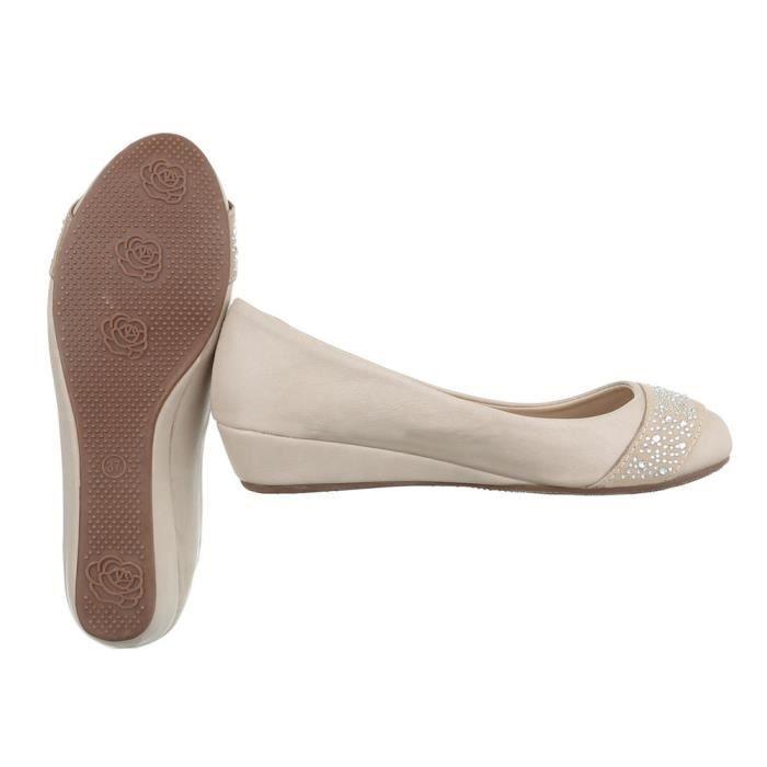 beige Mules Strass Escarpin Mule Chaussure heels Occupé Femme High  Ballerine Sandalette Noir Beige I7FqwHxx d14dba79fd4b
