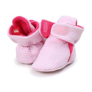 BOTTE Bottes de neige à semelles souples pour bébé Chaussures de crèche souples Bottes pour tout-petits@BeigeHM zxKHc6bD13