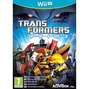 JEU WII U Transformers Prime Jeu Wii U