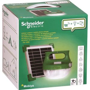 SCHNEIDER ELECTRIC Lampe mobile ? recharge solaire LED - IP65