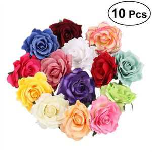 676cb21de02 FLEUR ARTIFICIELLE 10 PCS fleur artificielle broche épingles colorées