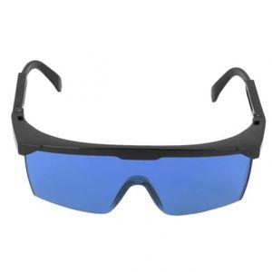 a2366d7742630e LUNETTE - VISIÈRE CHANTIER Version Bleu - Lunettes De Protection Laser  Sécuri ...