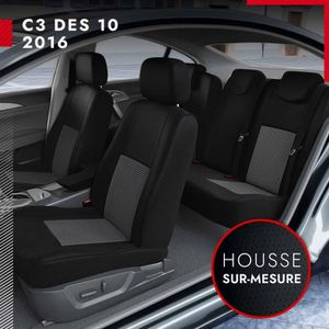 HOUSSE DE SIÈGE DBS Housse sur Mesure pour Citroën C3 à partir d'O