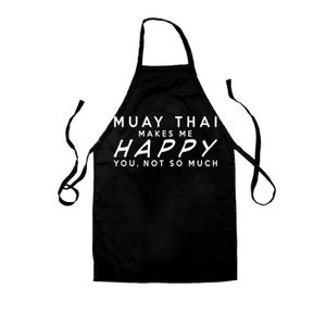 TABLIER DE CUISINE Dredown uay Thai Make Me Happy - Unisex Tablier po