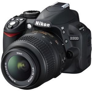 APPAREIL PHOTO RÉFLEX NIKON D3100 + objectif AF-S DX 18-55 VR