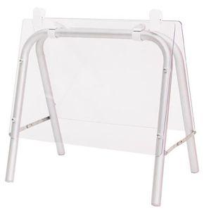 CHEVALET DE TABLE Chevalet de table en aluminium - Dim : H 52 x L 50