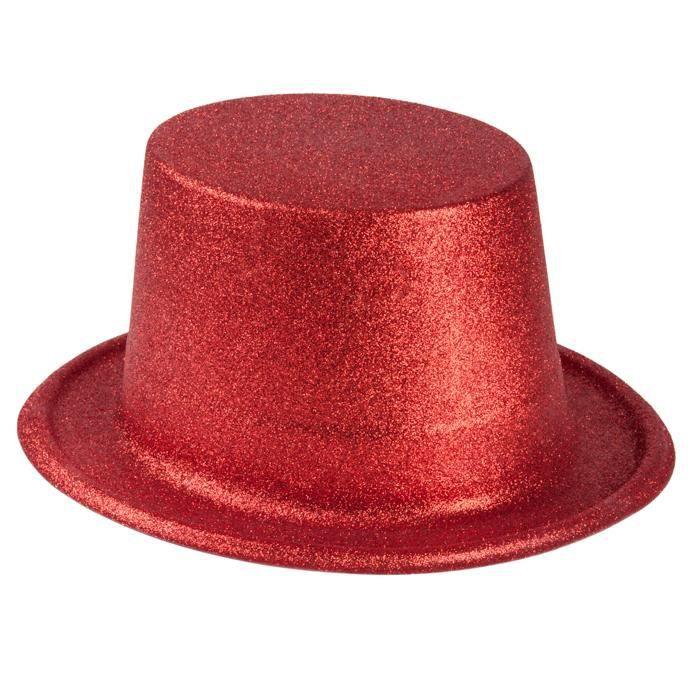 chapeau haut de forme rouge achat vente jeux et jouets pas chers. Black Bedroom Furniture Sets. Home Design Ideas