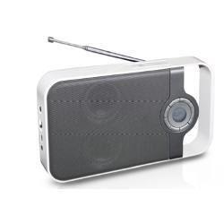 Radio Portatile Fm Pll Con Presa Usb E Card Reader. Ingresso Aux . Batteria Al Litio Integrata.