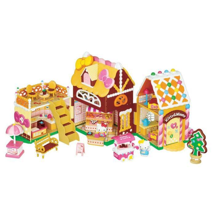 Maison de poup es hello kitty confiserie achat - Maison de poupee hello kitty ...