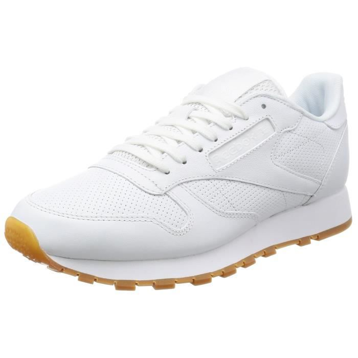 a7e7755dbe062 Reebok chaussures - baskets homme cuir classique pg 3TPEO3 Taille-42 ...