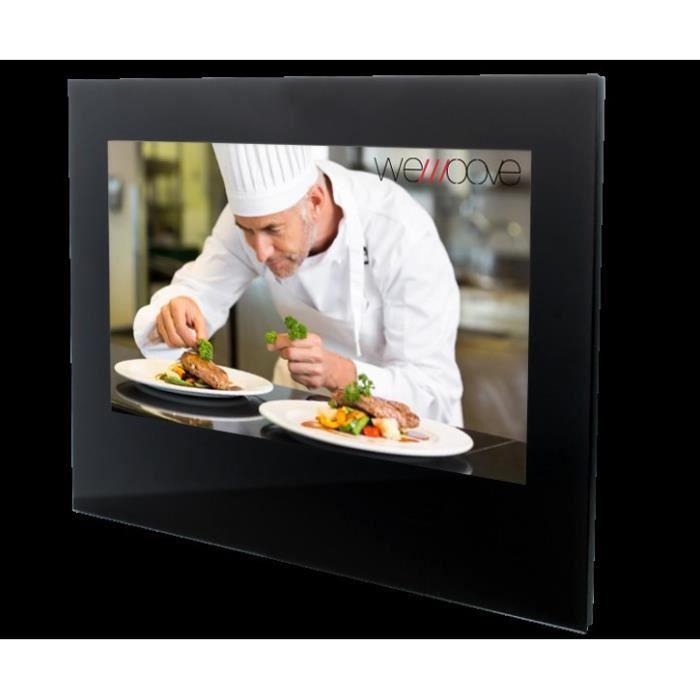 """Téléviseur LED Téléviseur encastrable 54cm (21,5"""") cuisine étanch"""