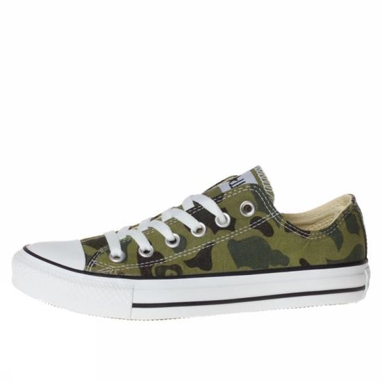the latest cf866 b59f6 CONVERSE ALL STAR OX GRAPHICS 136598C MODA HOMME Vert - Achat  Vente  chaussures multisport - Cdiscount