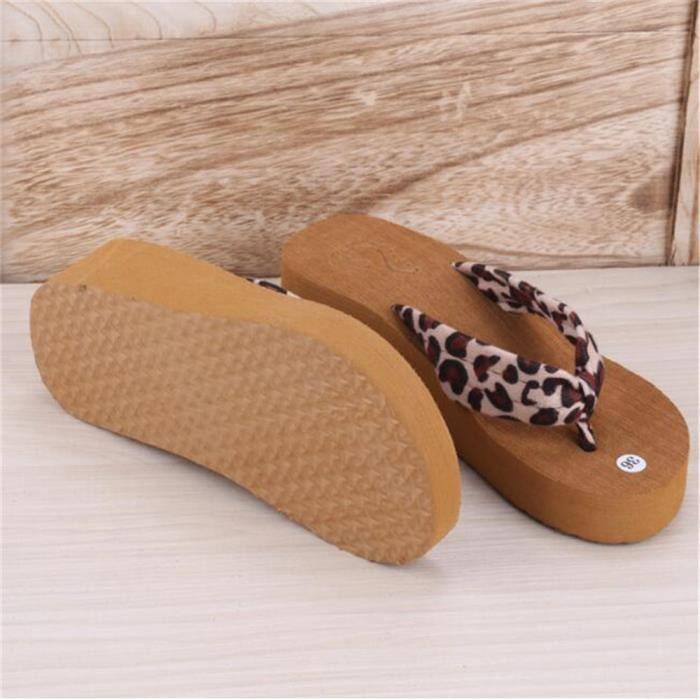 Tong Femmes Flip Flops Mode Pantoufles Femmes chaussonMeilleure Qualité Chaussures D'été Plage d'ete pour femme pantoufle