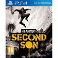 JEU PS4 Infamous: Second Son Jeu PS4