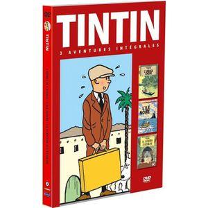 DVD DESSIN ANIMÉ DVD Coffret Tintin, vol. 2 : L'île noire ; L'or...