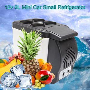 RÉFRIGÉRATEUR CLASSIQUE 6L voiture Petit Réfrigérateur Compact Cooler Réfr