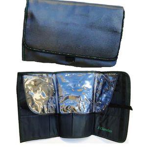 d3bbcf5db55 TROUSSE DE MAQUILLAGE Etui ceinture tablier pochette en cuir porte outil