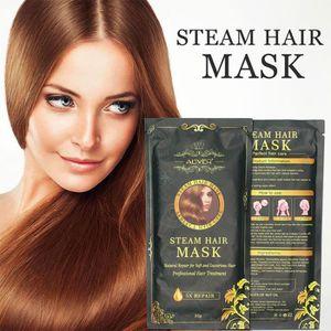 MASQUE SOIN CAPILLAIRE Aliver automatique Chauffage vapeur Masque cheveux
