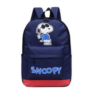 Promobo - Sac A Dos Ecole Gouter Sport Licence Snoopy League Bleu 11,5L