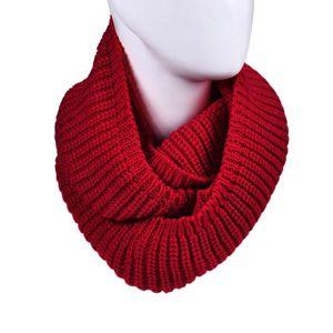 ... Cercle en tricot à col bénitier longue écharpe Châle WR. ECHARPE -  FOULARD echarpe HNM792 Chaud femmes hiver Infinity 2 Câble 338aac56700