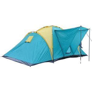 TENTE DE CAMPING Camping Tente Dôme Familiale 4-6 Personnes Impermé