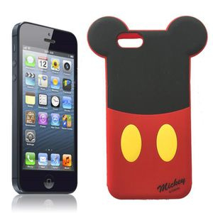 coque iphone 5 5s mickey siliconne souple