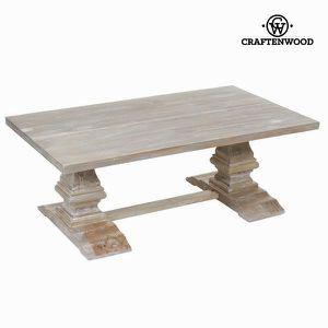 TABLE BASSE Table basse à pieds à formes géométriques - table