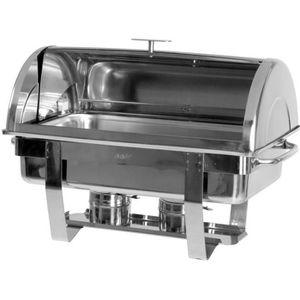 CHAUFFE-PLAT ELECTRIQUE Chafing Dish avec couvercle Modèle DENNIS - SARO