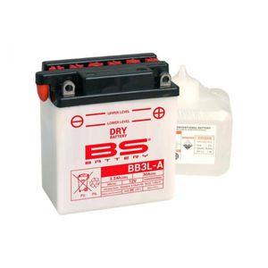 BATTERIE VÉHICULE Batterie BS BATTERY BB3L-A conventionnelle livrée