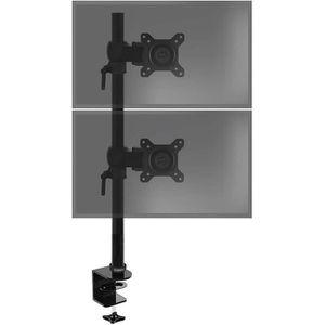 FIXATION ÉCRAN  Duronic DM35V2X1 Support vertical pour deux écrans
