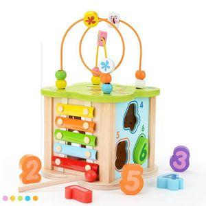 BOULIER 1PCS Perles Labyrinthe Rouleau Coaster Box éducati