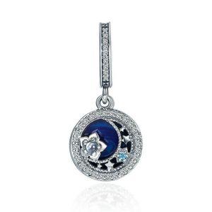 Charm's Charmes Pendentif - Argent 925 Diamants Pentagramm