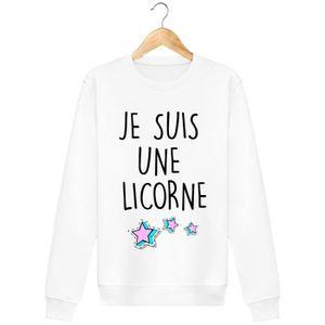 SWEATSHIRT Sweatshirt Je suis une licorne
