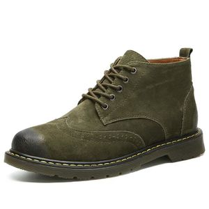 Bottine Homme Comfortable Classique Chaussure Hommes BSMG-XZ218Marron40 iWcly4Ux7