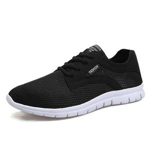 sports shoes b792c 52a6c CHAUSSURES DE RUNNING Basket Running Homme Confortable Mesh Extensible R ...