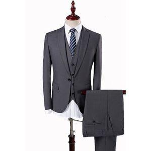 COSTUME - TAILLEUR Costume Homme 3 pièces de Cérémonie Smoking Busine 659e121841d
