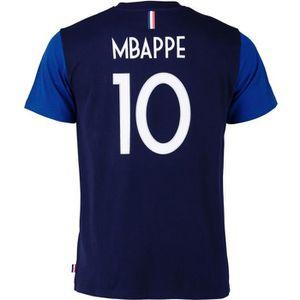MAILLOT DE FOOTBALL T-shirt FFF - Kylian MBAPPE - Collection officiell