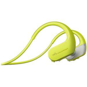 LECTEUR MP3 SONY NW-WS413 Lecteur MP3 - Casque sport 4 Go Vert