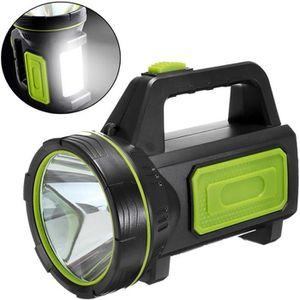 LAMPE DE POCHE TEMPSA Lampe Torche Rechargeable - 10W LED Portabl