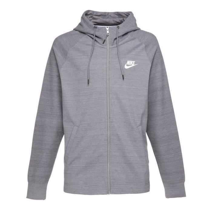NIKE Sweatshirt AV15 Fz Knit - Homme - Gris