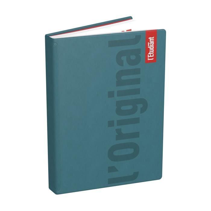 ETUDIANT Agenda 400118749 - 15 x 21 cm - 1 jour par page - Couverture Ouatinée - 352 P - Couleur Vert